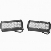 Battle Armor 7 Inch Led Light Bar W Adjule Brackets Sold In Pairs