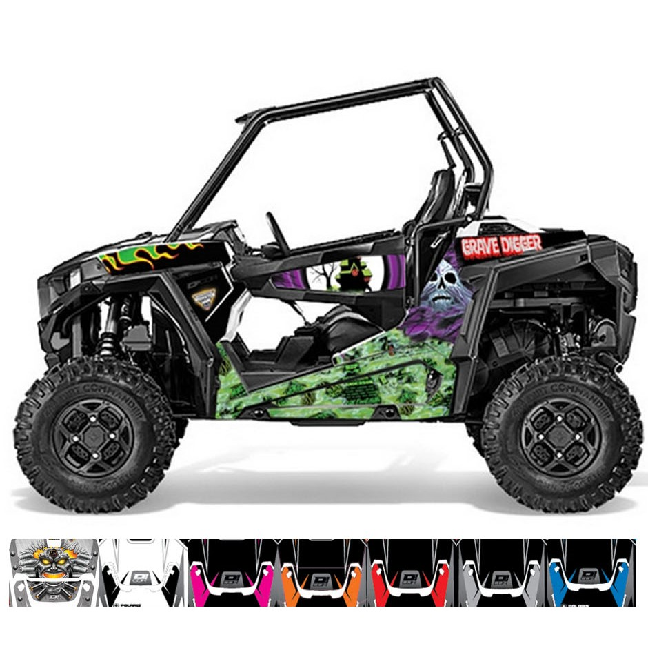 polaris rzr xp 1000 900 graphic kits side by side stuff. Black Bedroom Furniture Sets. Home Design Ideas