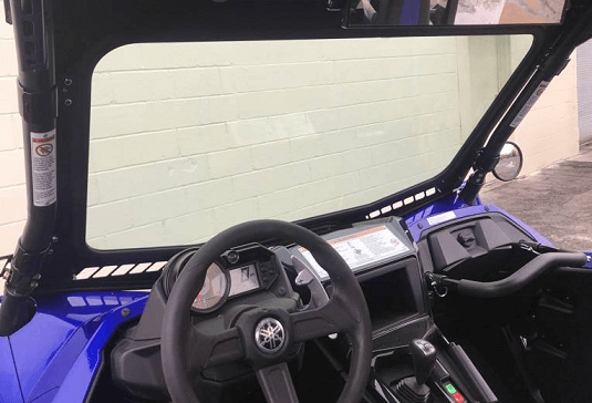 EMP D O T  Approved Safety Glass Front Windshield - 2019 Yamaha YXZ 1000 R
