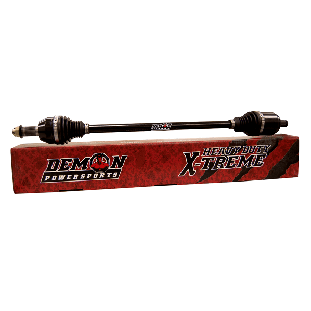 Demon Heavy Duty Xtreme Stock Length FRONT Axle - Polaris RZR 800