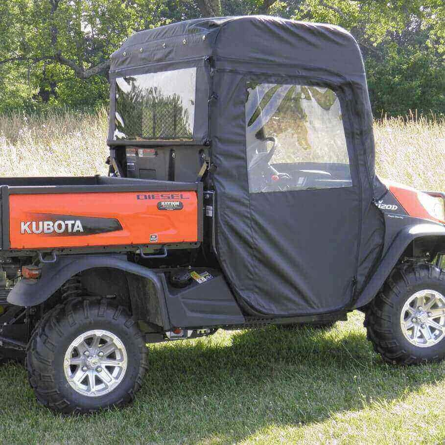 3 Star Doors and Rear Window - Kubota RTV 400 | 500 | X900 | X1120