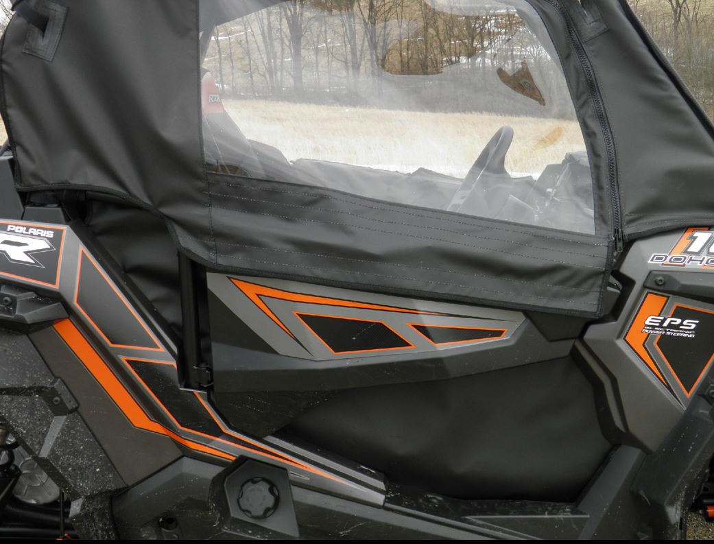 Polaris Rzr Xp 1000 Doors Rear Window Sidebysidestuff Com