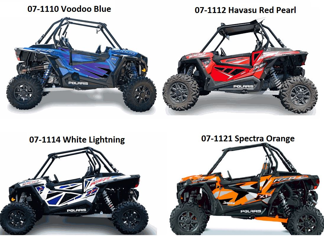 dragonfire door graphics for polaris rzr xp 1000. Black Bedroom Furniture Sets. Home Design Ideas