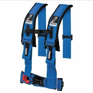 Dragonfire H-Style 3 Inch Wide Harness - Blue