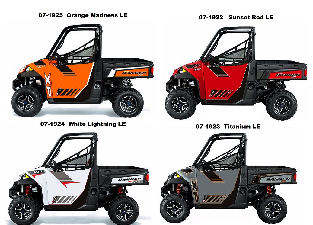 Dragonfire Racing Hiboy Door Graphics For Polaris Ranger