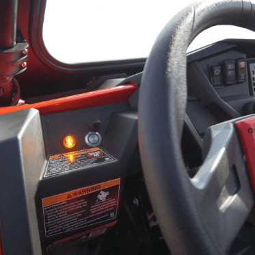 UTV Horn /& Signal Kit With Mirrors for Textron STAMPEDE 4 2018