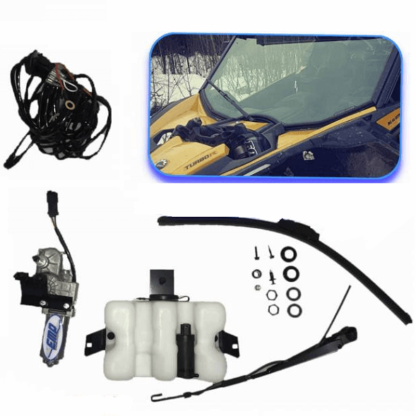 Can Am Maverick X3 Electric Wiper Kit