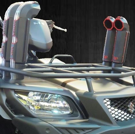 Warrior Riser Snorkel Kit by Snorkel Your ATV - 2005-19 Suzuki King Quad  450 | 500 | 700 | 750