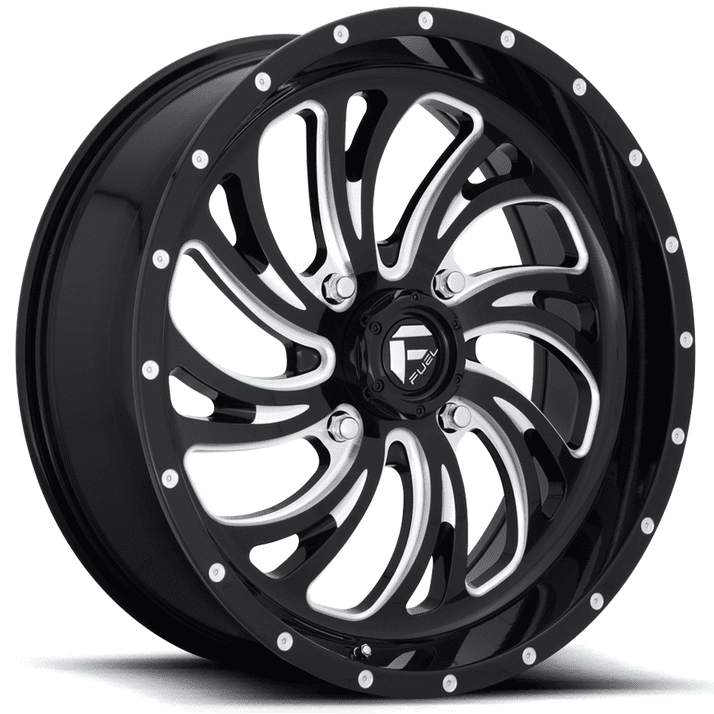 Fuel Kompressor D641 Gloss Black Wheels