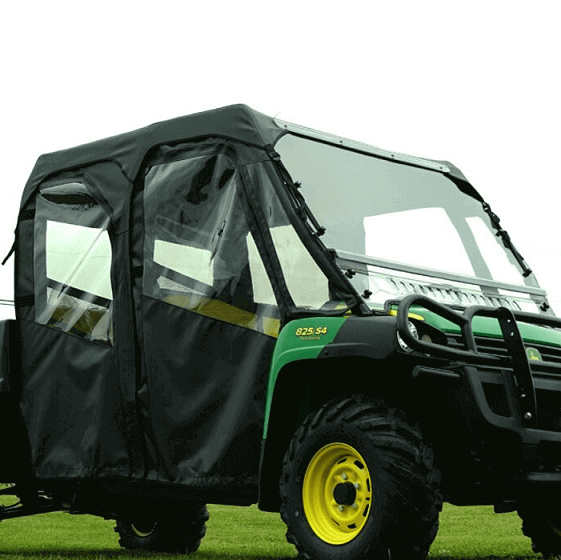 John Deere Side By Side >> Full Cab Enclosure W Aero Vent Front Lexan Windshield By Over Armour Offroad 2013 17 John Deere Gator Xuv 825i S4 Crew Xuv 855d S4 Crew
