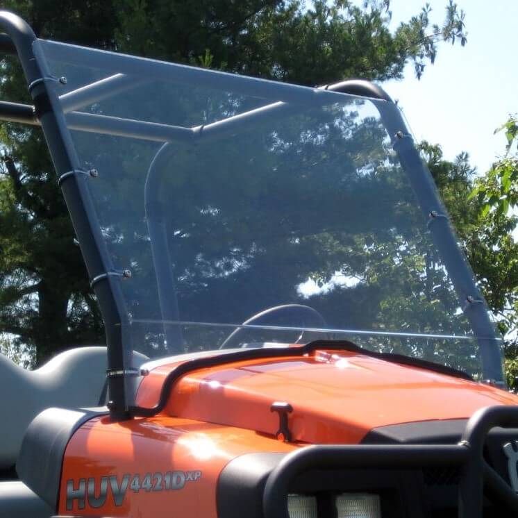 Full Front Lexan Windshield by Over Armour Offroad - Husqvarna HUV 4421