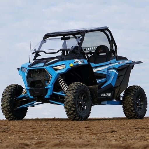 Direction 2 Hard Coated Full Tilting Front Windshield - 2019 Polaris RZR XP  1000 | XP Turbo
