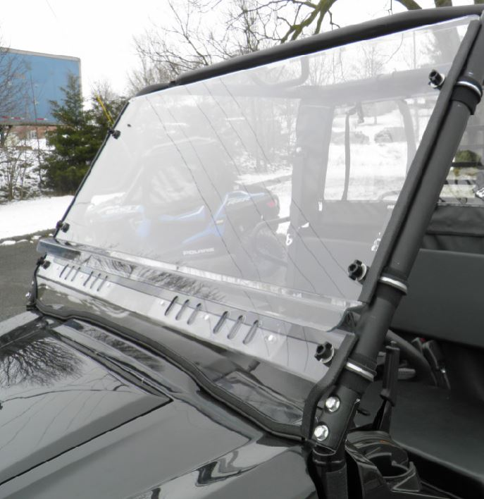 GCL Full Cab Enclosure w| Lexan Windshield - Kawasaki Mule Pro-FX | DX