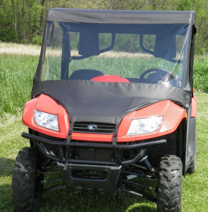 GCL Soft Windshield, Top and Rear Window - Kymco UXV 450 | 500 | 700
