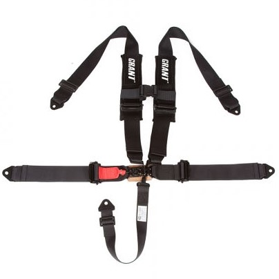3 Inch 5 Point Harness w| Shoulder Pads - Side By Side Stuff