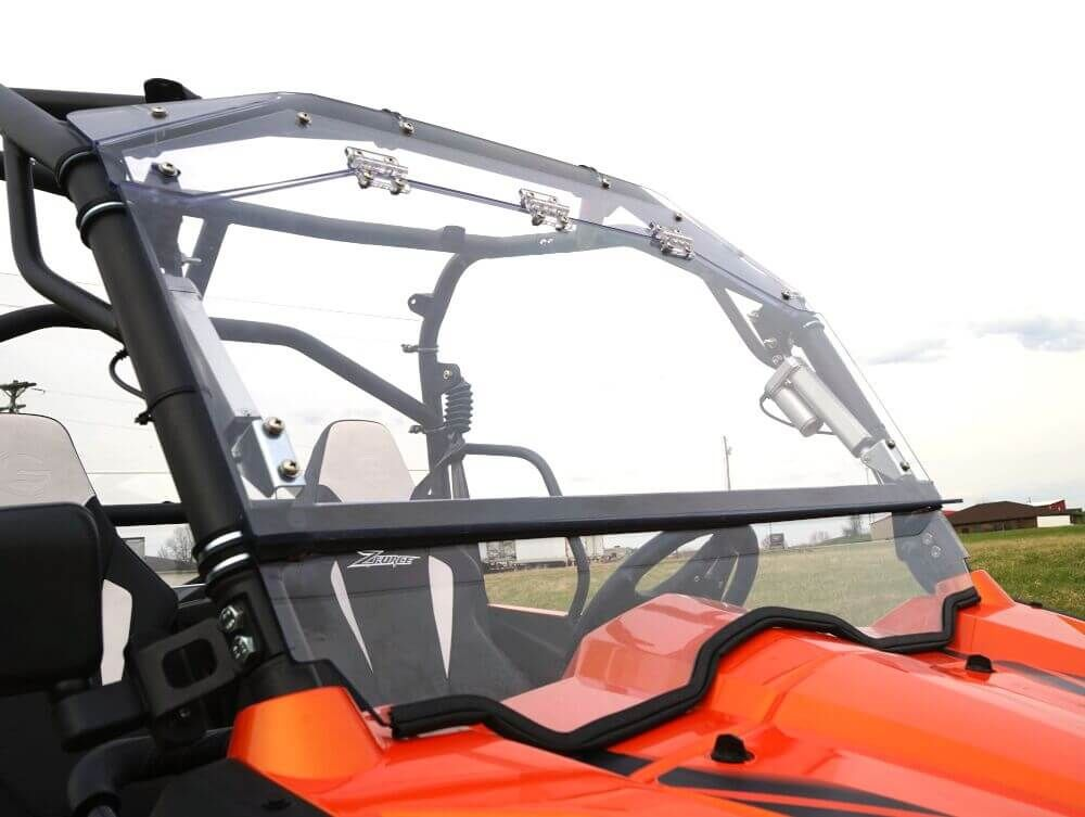 cfmoto zforce e flip windshield side by side stuff. Black Bedroom Furniture Sets. Home Design Ideas