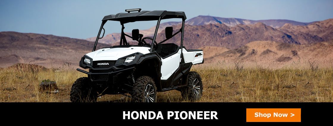 Find UTV parts and accessories for your Honda Pioneer at Side By Side Stuff. Shop for Pioneer windshields, wheels and tires, mirrors, and more all in one place.