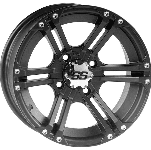 Itp Ss212 Black Wheel Set
