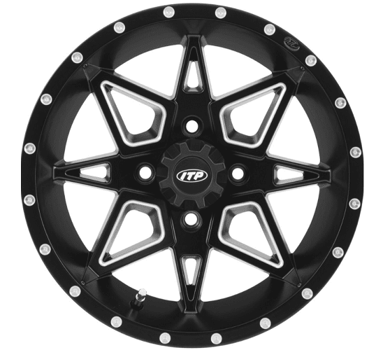 Itp Tornado Wheel Set With Lug Nuts
