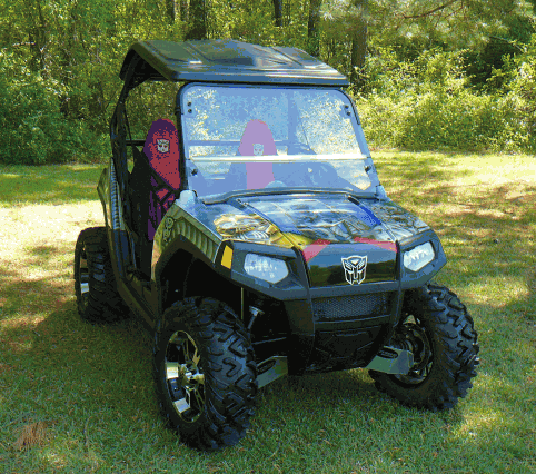 J Strong Top With Stereo For Polaris Rzr Sidebysidestuff Com