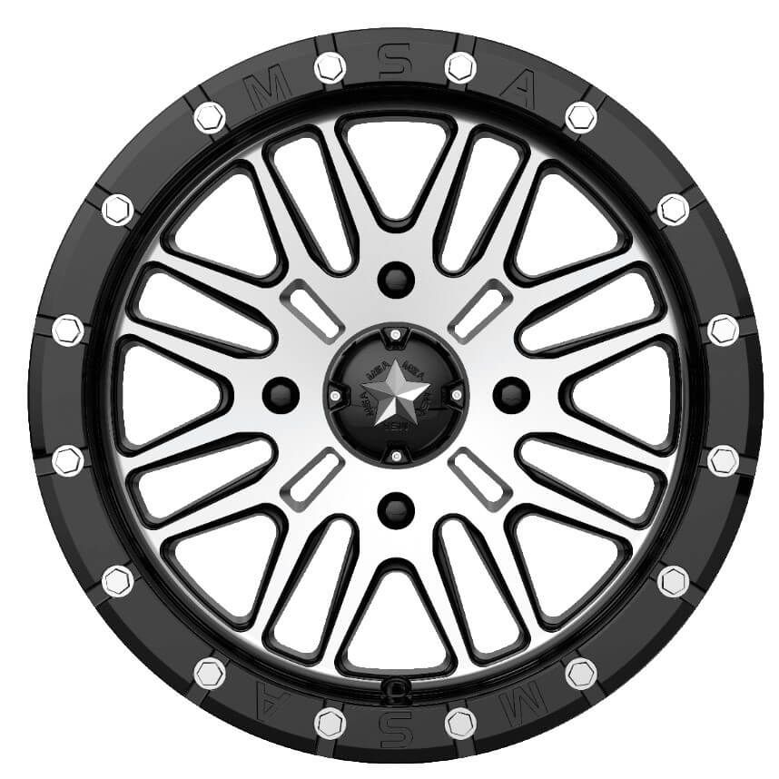 Msa M37 Brute Beadlock Wheel Set