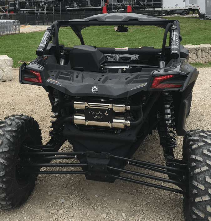 MBRP Performance Series Slip On Dual Stack Exhaust - Can Am Maverick X3