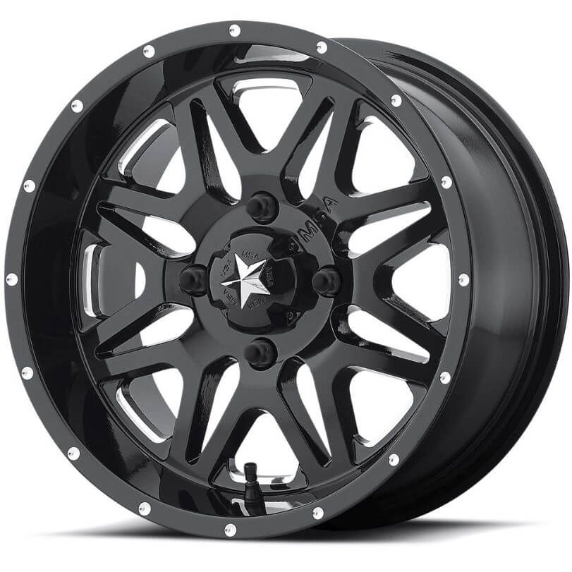 M26 Milled Wheels On Bkt At 171 Tires
