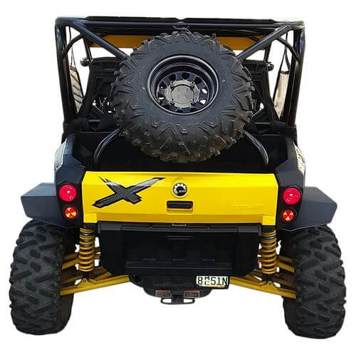 Mud Busters Can Am Commander Fender Flares Side By Side