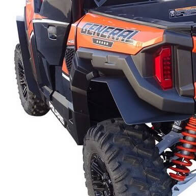 Polaris General 1000 Mud Protection Panels by MudBusters