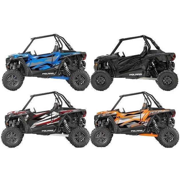 ProLine Wraps Door Graphics - 2016-18 Polaris RZR XP Turbo