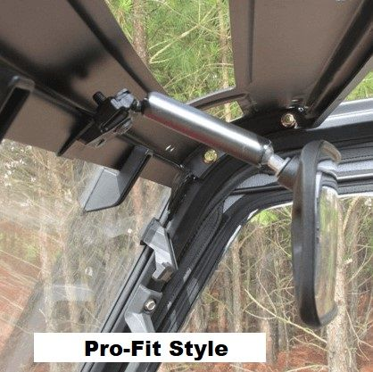Quadboss Rear View Mirror Polaris Ranger 900XP Ranger 1000XP with Pro Fit Cab ATV, Side-by-Side & UTV Parts & Accessories