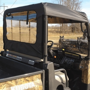 seizmik top and rear panel kubota rtv side by side stuff. Black Bedroom Furniture Sets. Home Design Ideas