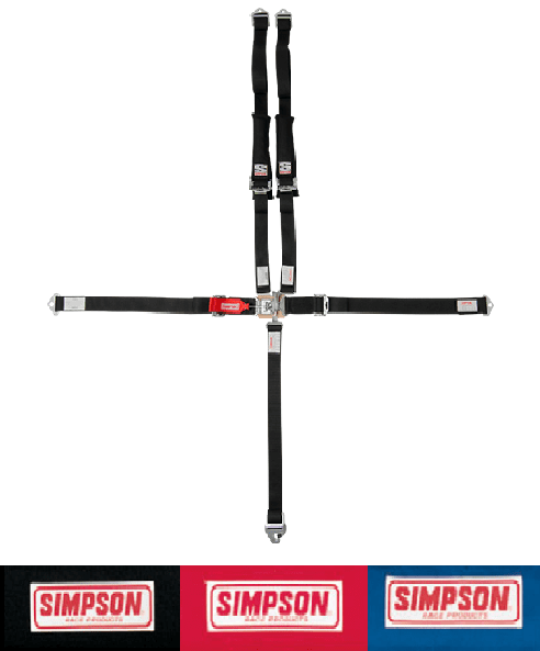 Side By Side Stuff - Simpson SFI Approved Racing Harness