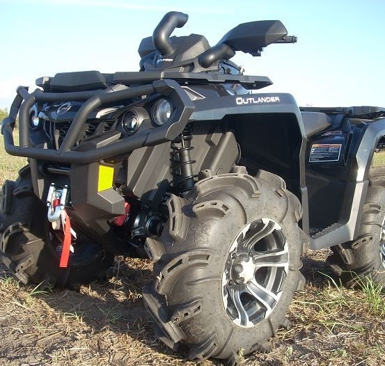 Traditional Riser Snorkel Kit by Snorkel Your ATV - 2012-19 Can Am  Outlander 500   650   800R   850   1000