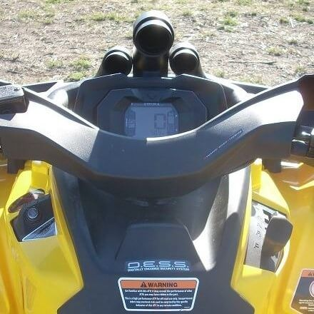 Traditional Riser Snorkel Kit by Snorkel Your ATV - 2012-19 Can Am  Outlander 500 | 650 | 800R | 850 | 1000