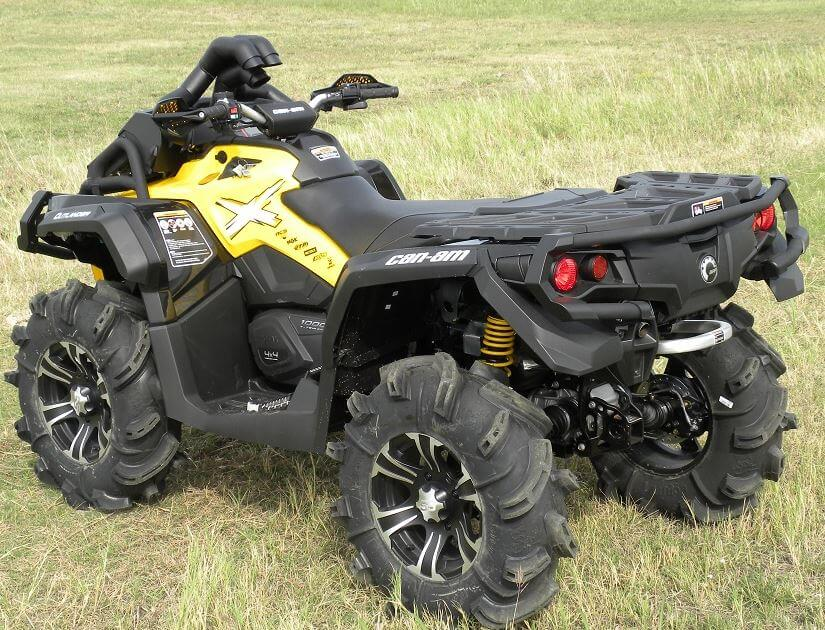 Traditional Riser Snorkel Kit By Your Atv Can Am Outlander Xmr 570l 650