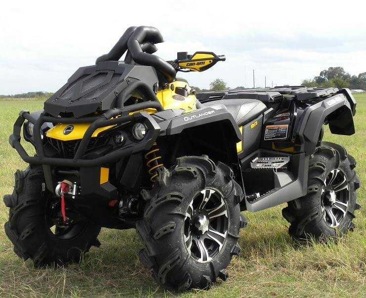 Can Am Outlander 1000 Xmr >> Traditional Riser Snorkel Kit By Snorkel Your Atv Can Am Outlander Xmr 570l 650 800 850 1000