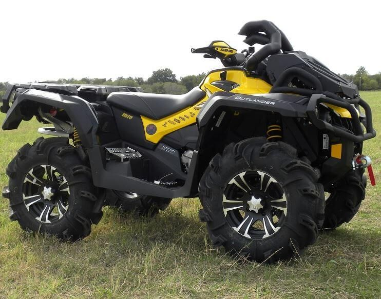 Can Am Atv >> Traditional Riser Snorkel Kit By Snorkel Your Atv Can Am Outlander Xmr 570l 650 800 850 1000