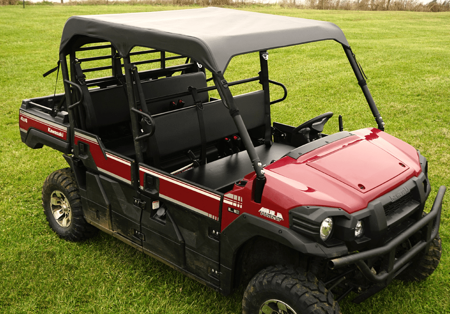 Soft Top By Over Armour Offroad Kawasaki Mule Pro Fxt Dxt
