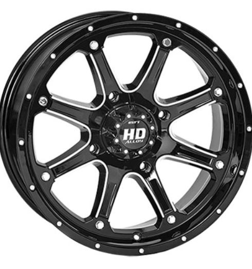 Sti Hd4 Wheels W Kanati Mongrel Tires