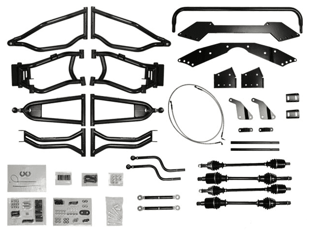 super atv 6 inch lift kit for polaris rzr 800 sidebysidestuff RZR 800 Belts