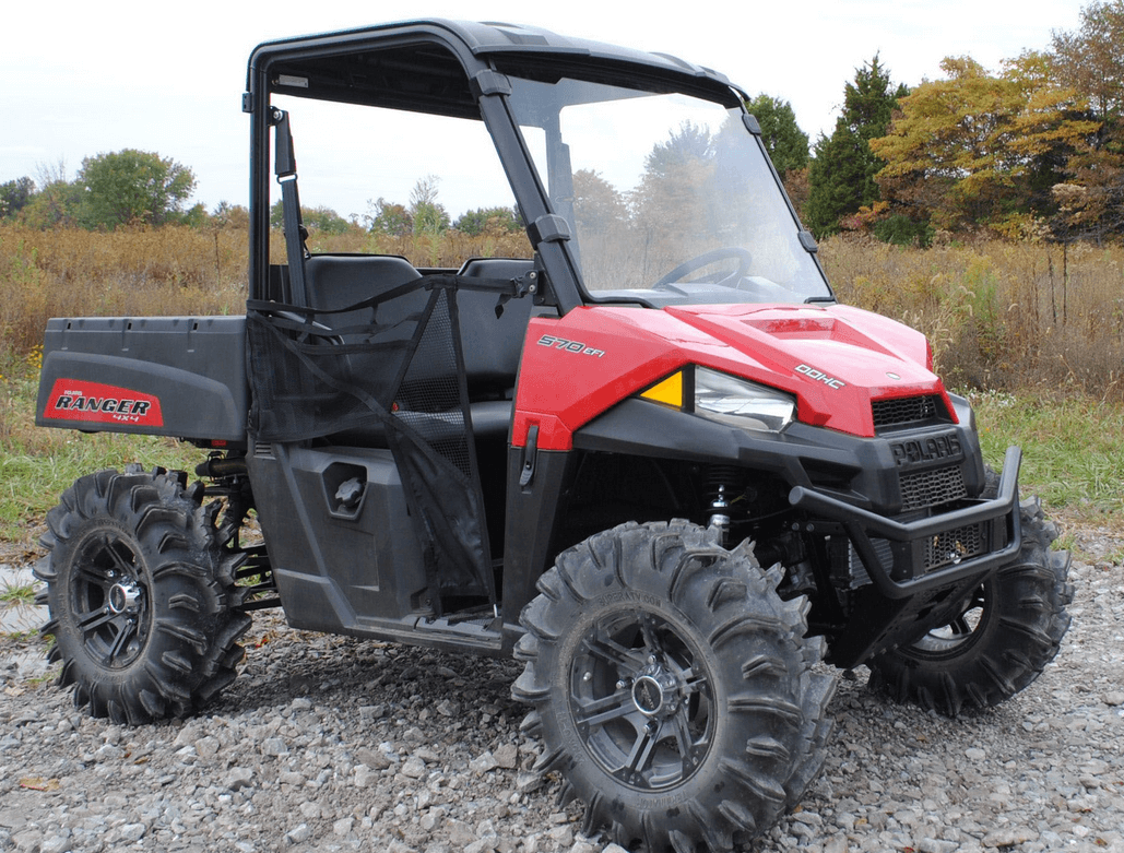 Full Front Windshield For Mid Size Polaris Ranger 500