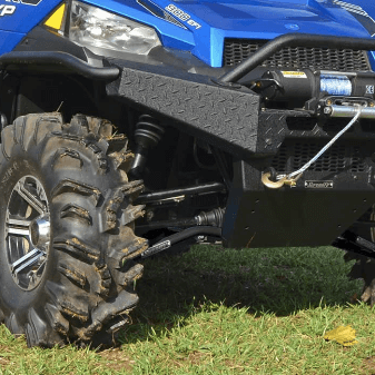 Super ATV High Clearance Front Lower A-Arms - 2013-19 Full Size Polaris  Ranger w  Pro-Fit Cage