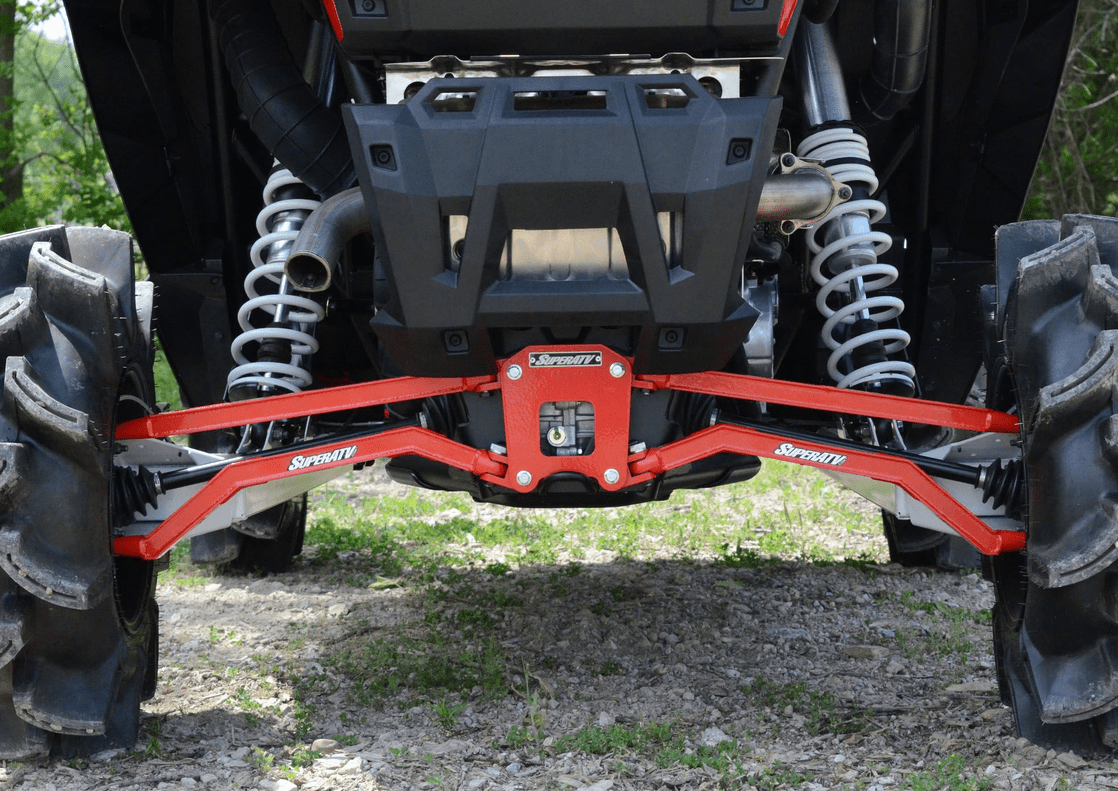 XP 4 900 2011-2014 Red SuperATV High Clearance Boxed Rear Radius Arms//Rods for Polaris RZR XP 900
