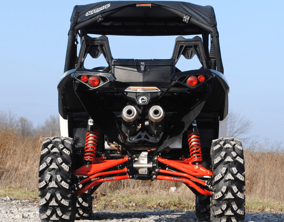 Super ATV High Clearance Rear A-Arms - Can Am Maverick