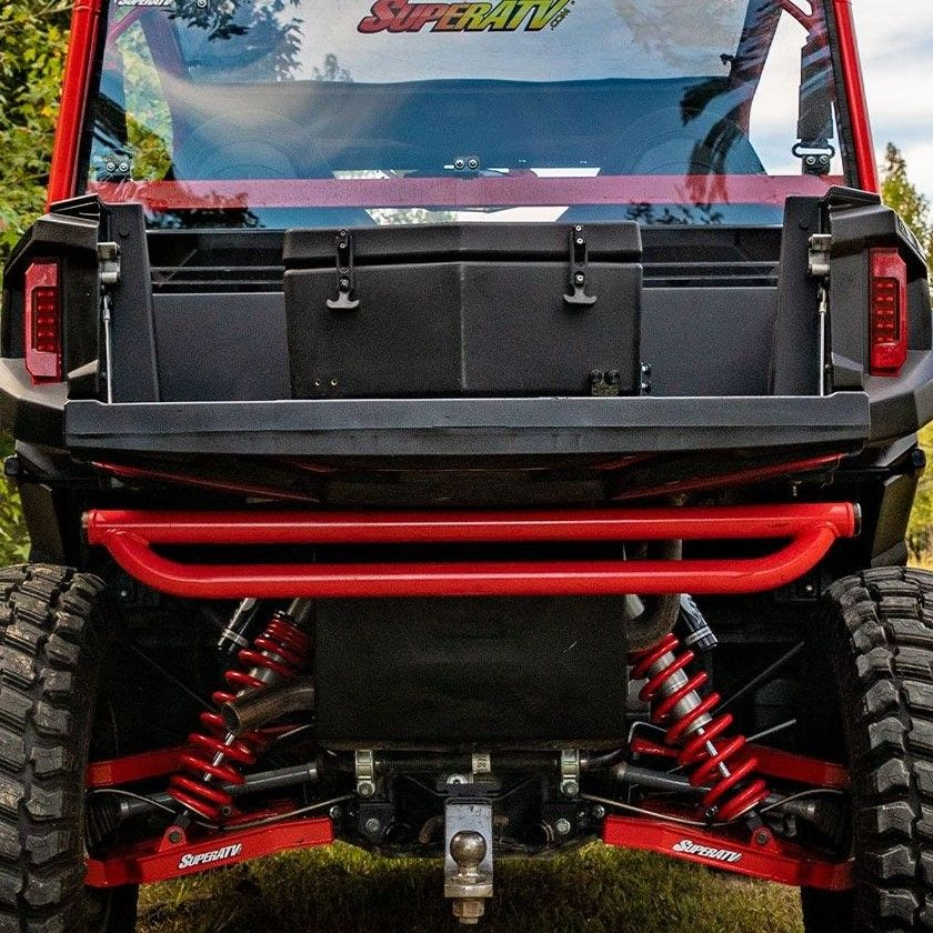 General 4 SuperATV Heavy Duty Insulated Rear Cooler//Cargo Box for Polaris General 1000 Sealed Lid Keeps Ice In /& Mud Out! 2016+