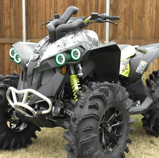 Can Am 1000 >> Can Am Renegade Sya Snorkel Kit Side By Side Stuff