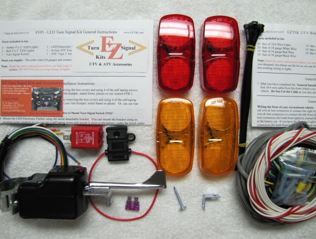 Turn Signal Kit w| Column Switch - Gravely Atlas JSV 3000 | 6000
