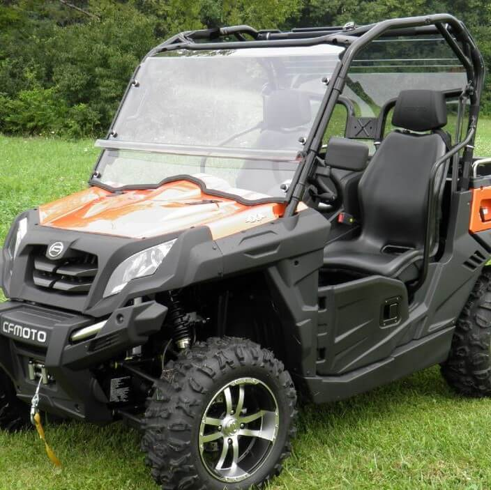 cfmoto uforce 800 two piece windshield side by side stuff. Black Bedroom Furniture Sets. Home Design Ideas