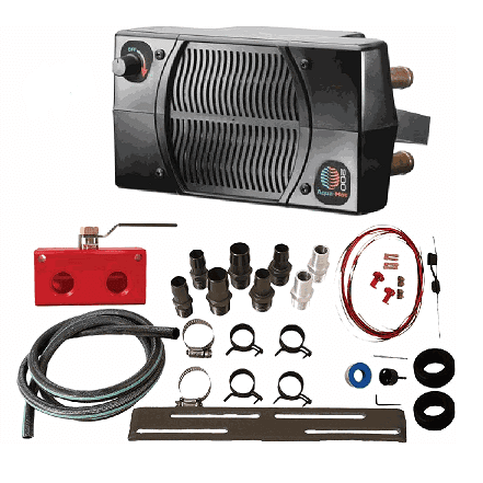Universal UTV 200 Series Cab Heater and Installation Kit by Aqua-Hot